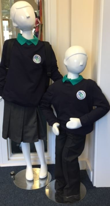 The new Portway Primary School Uniform