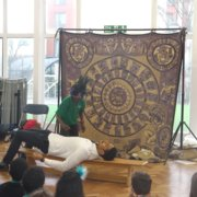Mayan workshops at school