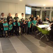 Visiting Nabarro's offices - and singing carols to raise funds for Place2Be